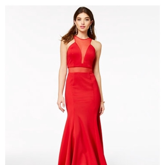 As U Wish Dresses | Beautiful Long Red Prom Dress Size 0 | Poshmark
